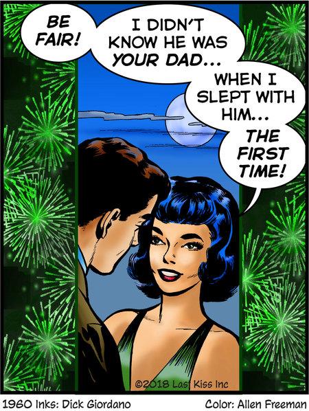 Last Kiss for Feb 21, 2018 Comic Strip