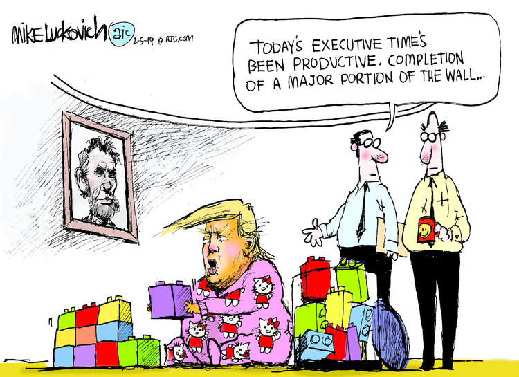 Mike Luckovich Comic Strip for February 05, 2019
