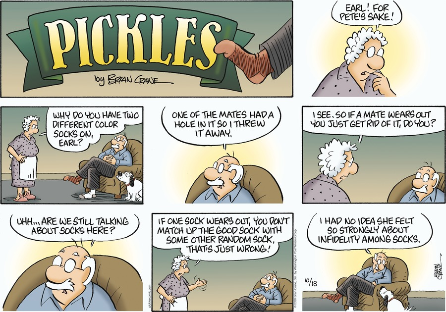 Pickles Comic Strip for October 18, 2020