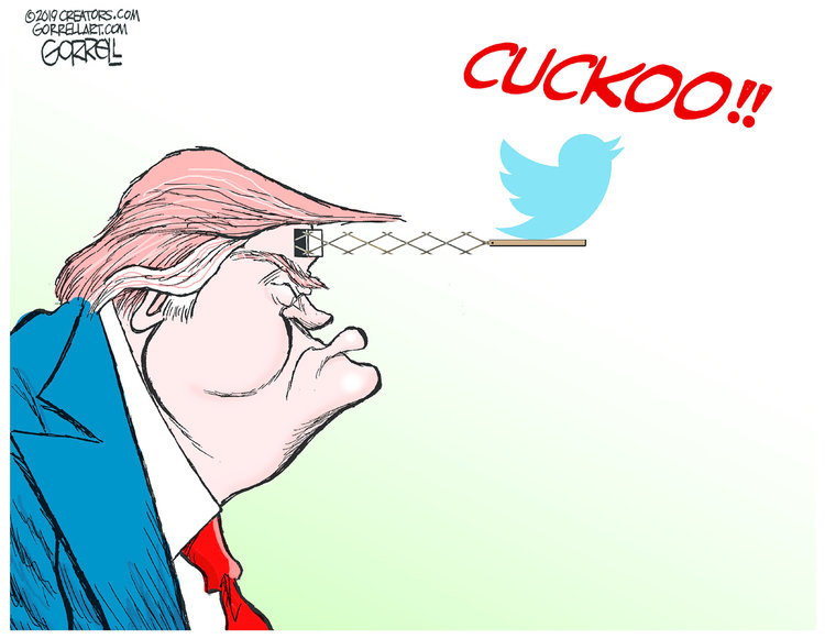 Bob Gorrell by Bob Gorrell for March 20, 2019