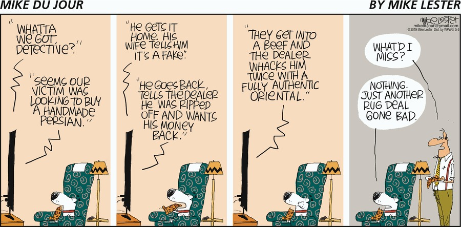 Mike du Jour Comic Strip for May 05, 2019