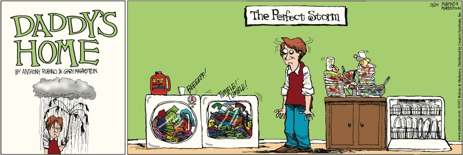 Daddy's Home Comic Strip for March 24, 2013
