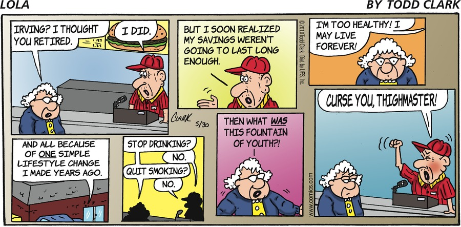 Lola for May 30, 2010 Comic Strip