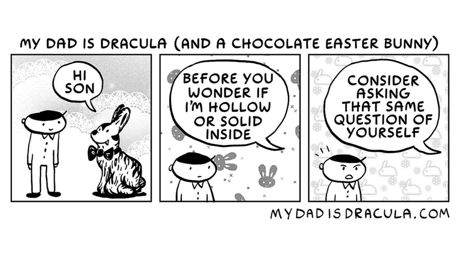 My Dad is Dracula Comic Strip for October 18, 2020