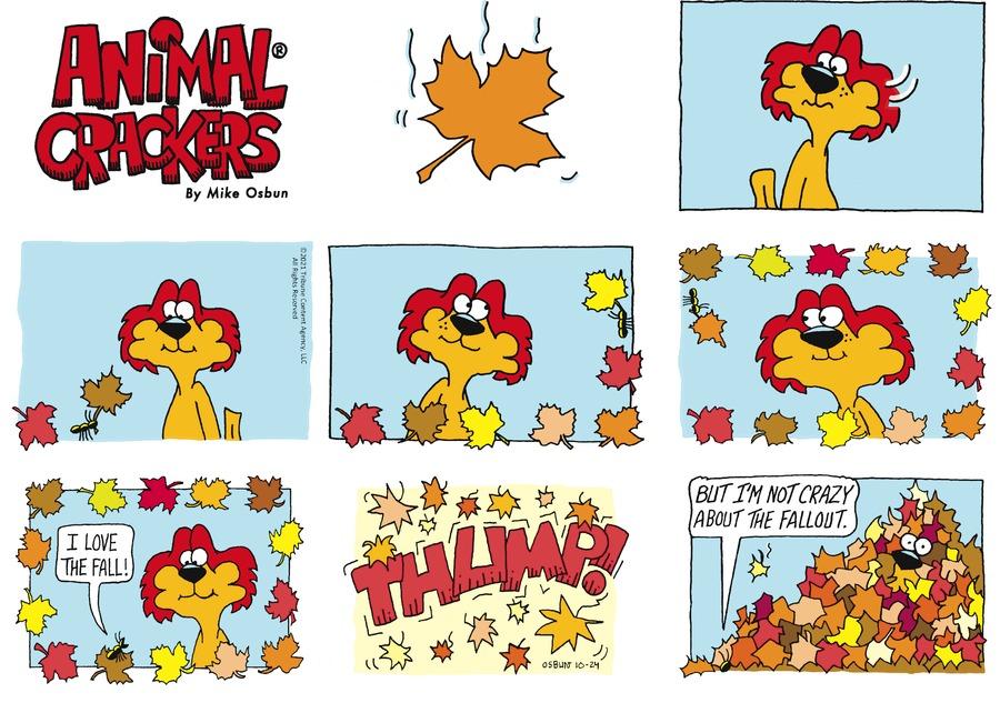 Animal Crackers by Mike Osbun on Sun, 24 Oct 2021