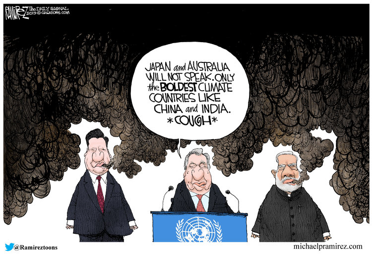 Michael Ramirez Comic Strip for September 21, 2019