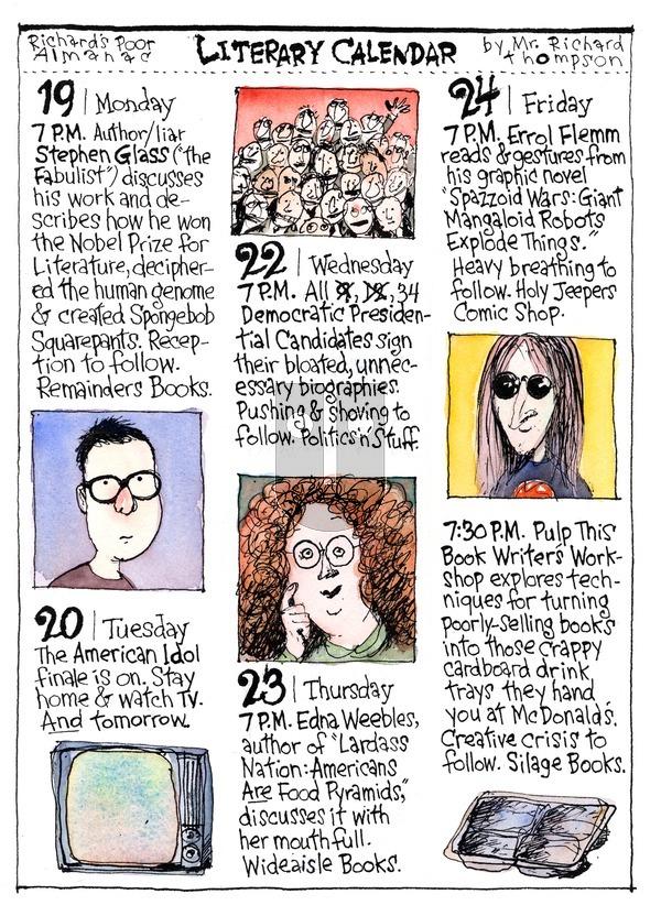 Richard's Poor Almanac on Sunday May 31, 2015 Comic Strip