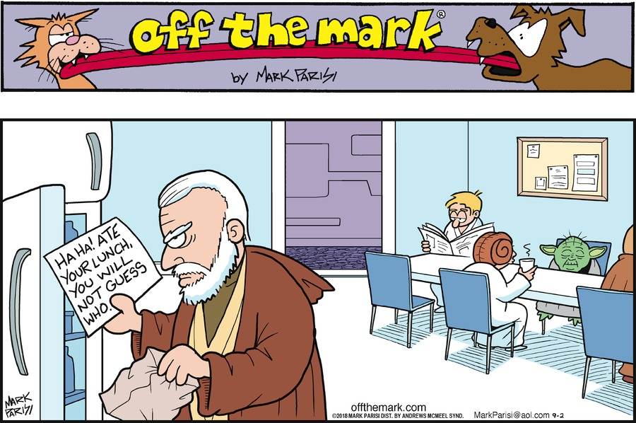 Off the Mark Comic Strip for September 02, 2018