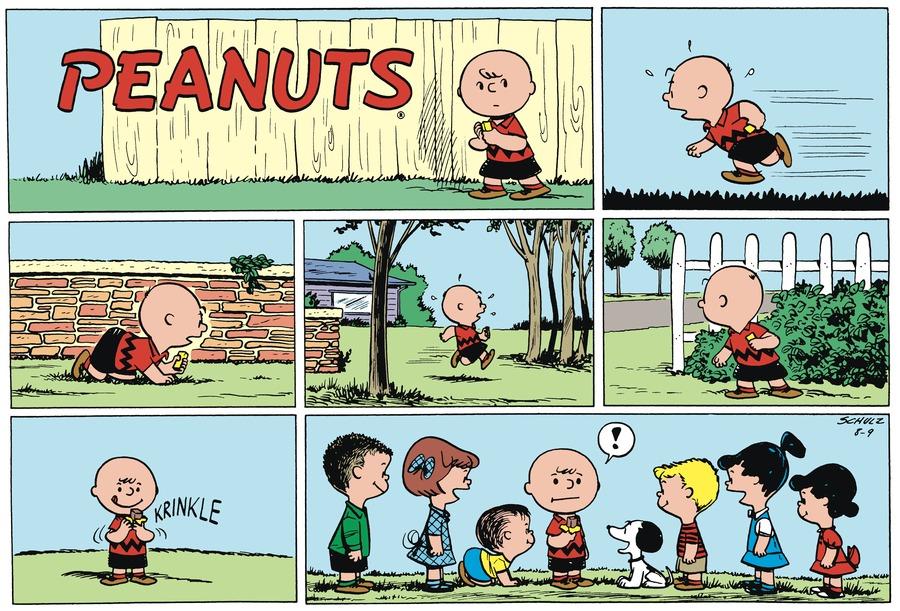 Peanuts Begins for Nov 10, 2017 Comic Strip