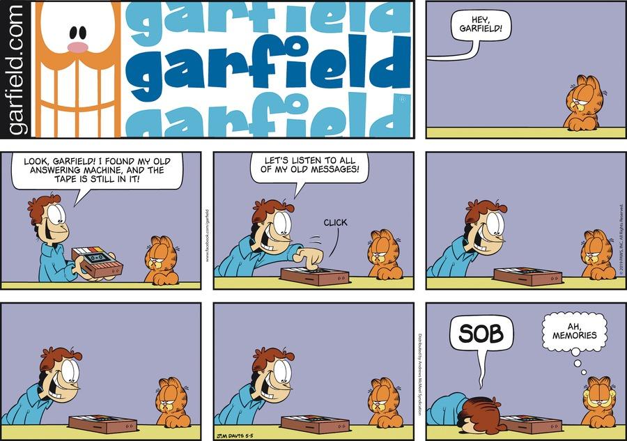 Garfield by Jim Davis for May 05, 2019