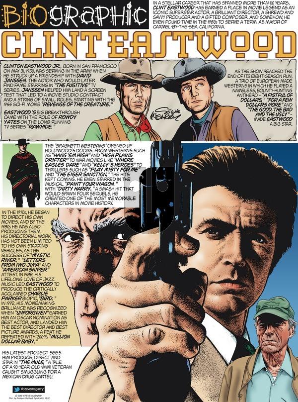 Biographic on Sunday December 2, 2018 Comic Strip