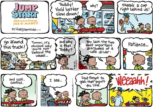 JumpStart on Sunday August 25, 2013 Comic Strip