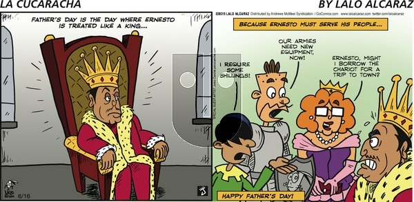 La Cucaracha on Sunday June 16, 2019 Comic Strip