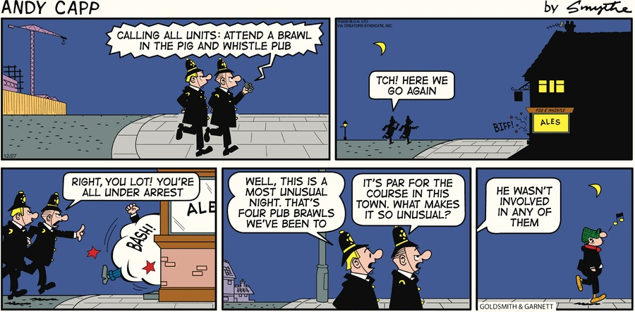 Andy Capp Comic Strip for December 27, 2020