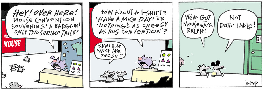 Ten Cats for Apr 3, 2013 Comic Strip