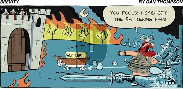 Brevity on Sunday March 7, 2021 Comic Strip