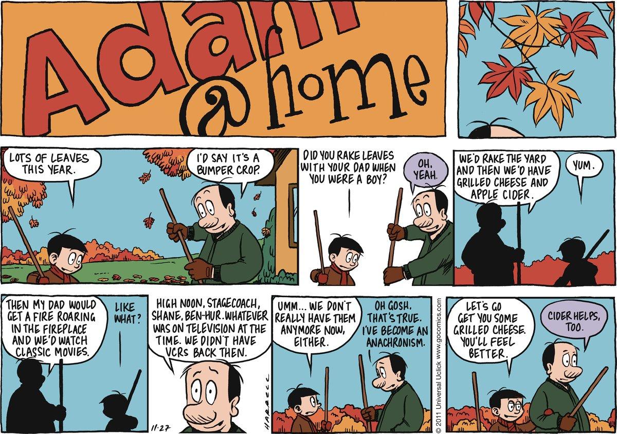 Adam@Home for Nov 27, 2011 Comic Strip
