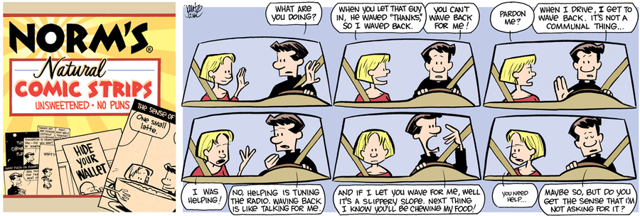 The Norm Classics for Feb 18, 2018 Comic Strip