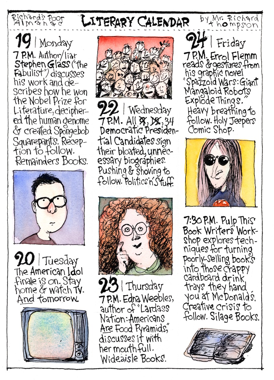 Richard's Poor Almanac Comic Strip for May 31, 2015