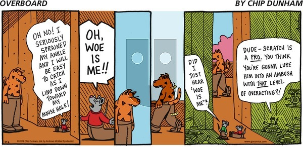 Overboard on Sunday October 6, 2019 Comic Strip