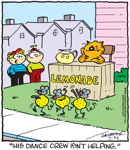 Heathcliff for Jul 30, 2012 Comic Strip