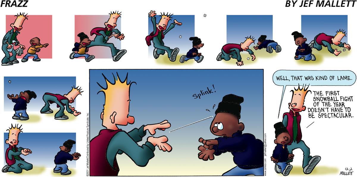 Frazz for Dec 2, 2001 Comic Strip