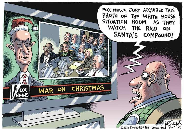 Rob Rogers Comic Strip for December 09, 2012
