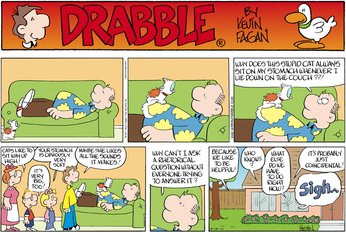 Drabble for May 15, 2011 Comic Strip