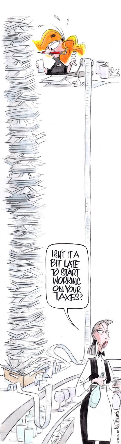 Mo Comic Strip for April 15, 2019