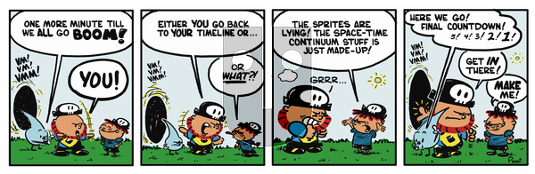 Pirate Mike on Wednesday February 6, 2019 Comic Strip