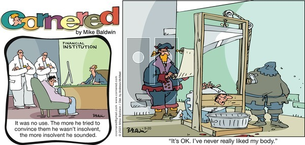 Cornered on Sunday September 20, 2020 Comic Strip