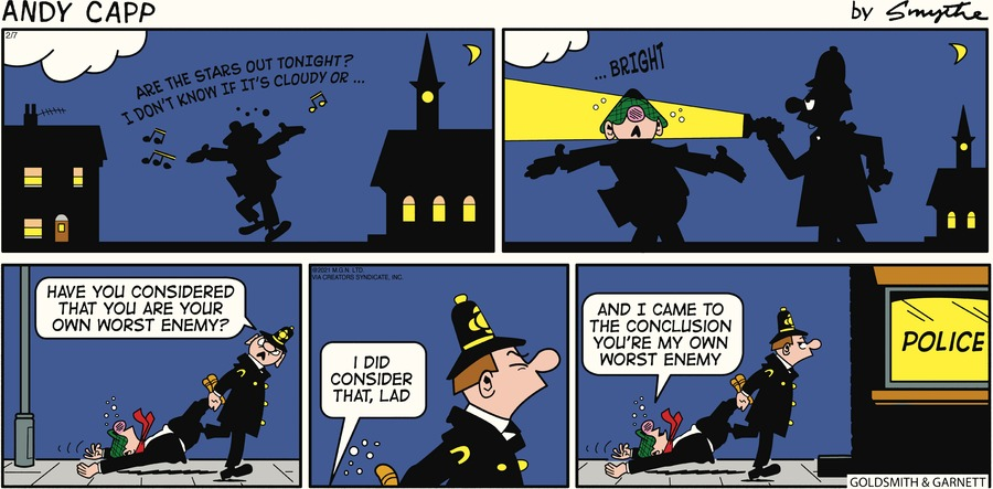 Andy Capp by Reg Smythe on Sun, 07 Feb 2021