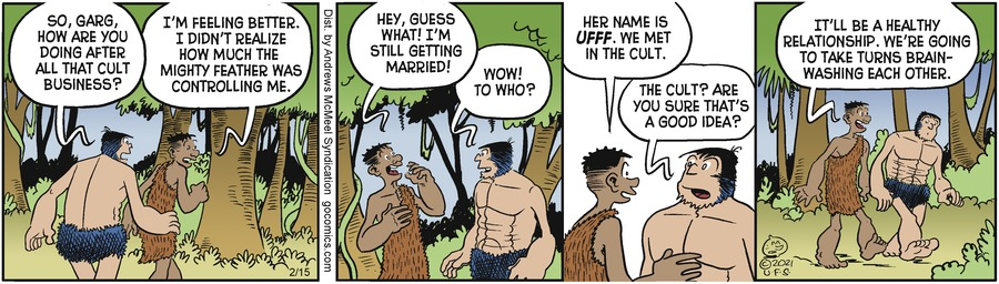 Alley Oop Comic Strip for February 15, 2021