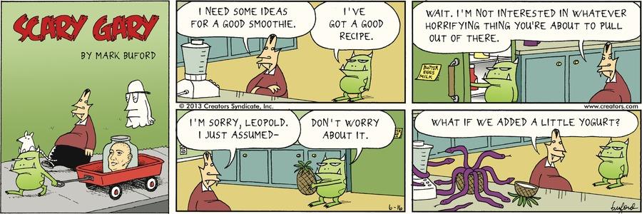 Scary Gary for Jun 16, 2013 Comic Strip