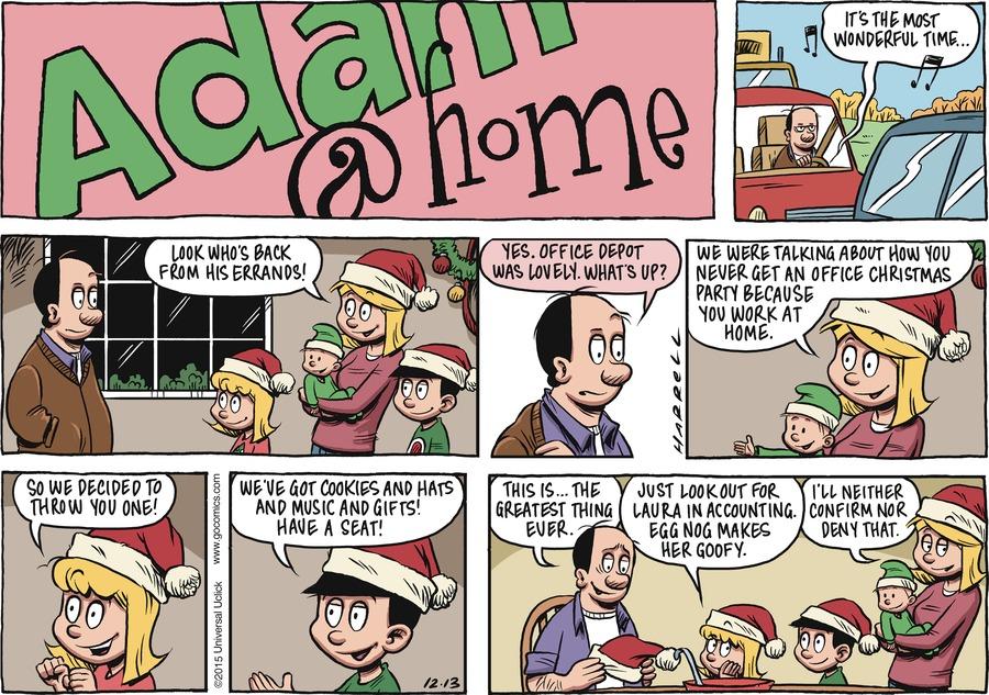 Adam@Home for Dec 13, 2015 Comic Strip