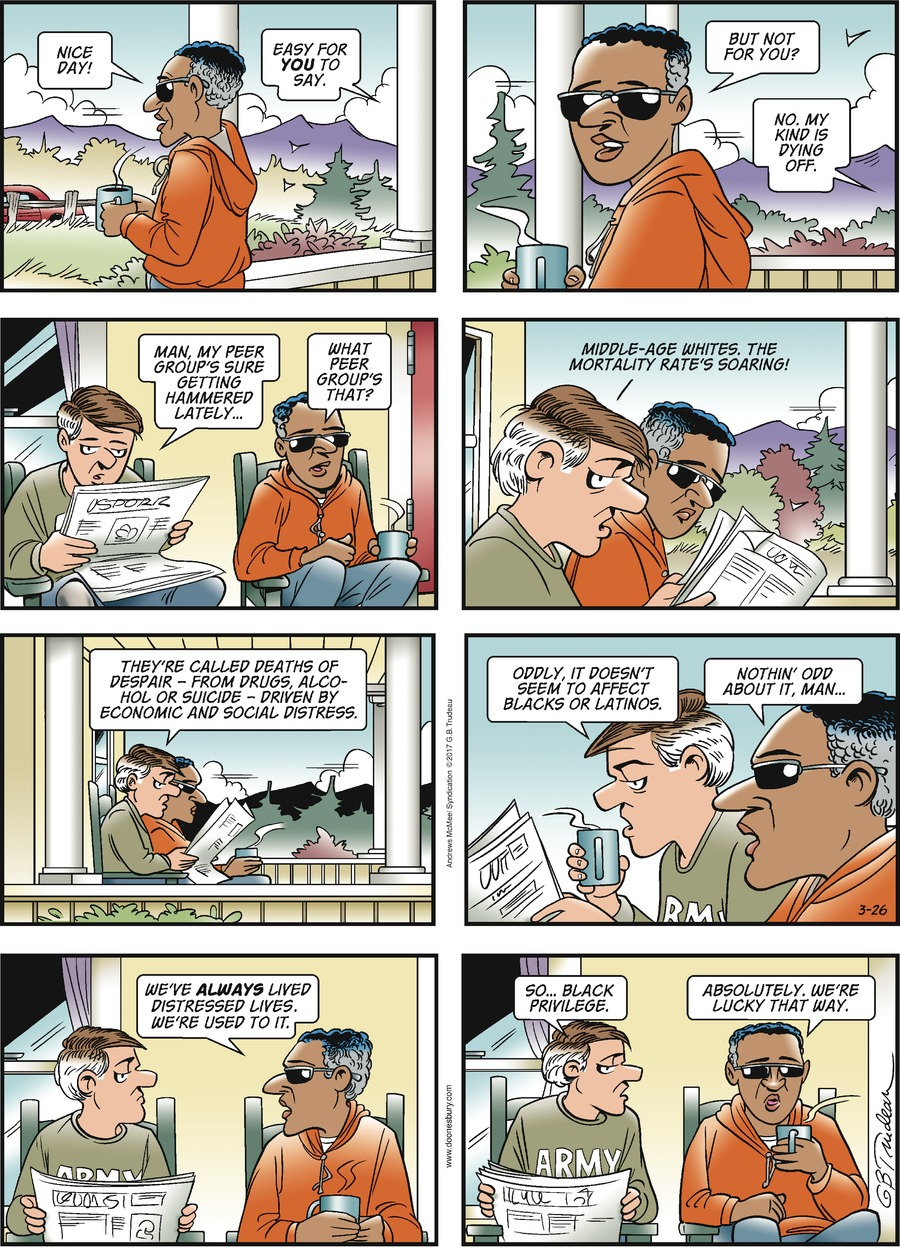 Doonesbury for Mar 26, 2017 Comic Strip