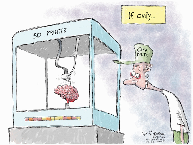Nick Anderson for Aug 2, 2018 Comic Strip