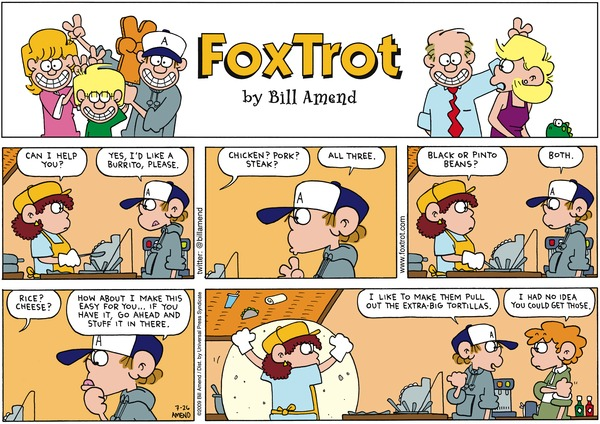 Collectible Print of foxtrot