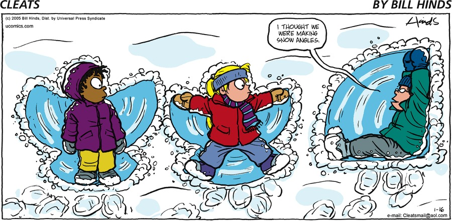 Cleats Comic Strip for January 16, 2005