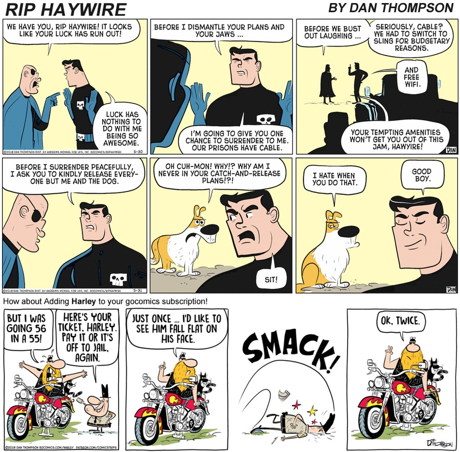 Rip Haywire Comic Strip for November 22, 2020