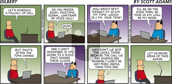Dilbert on Sunday December 27, 2020 Comic Strip