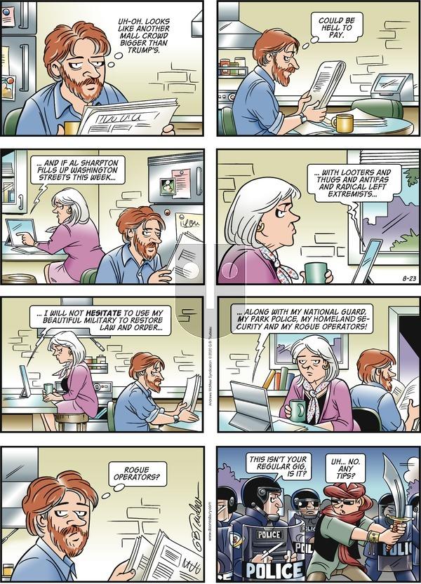 Doonesbury - Sunday August 23, 2020 Comic Strip