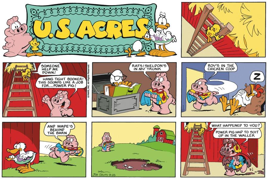 U.S. Acres Comic Strip for November 09, 2014