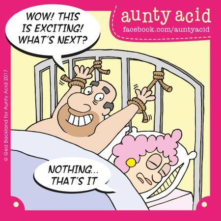 Aunty Acid Comic Strip for September 30, 2017