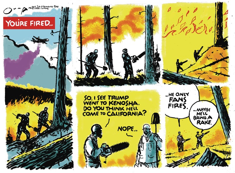 Jack Ohman Comic Strip for September 06, 2020