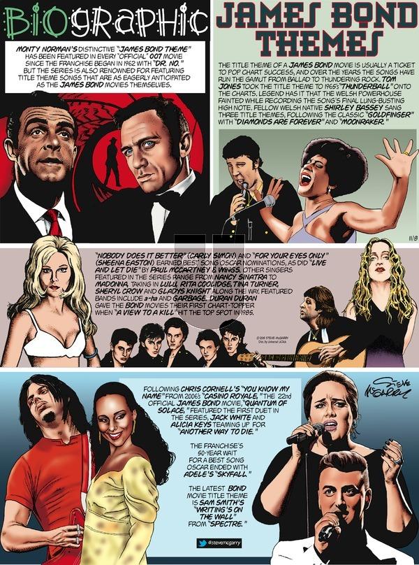 Biographic on Sunday November 8, 2015 Comic Strip