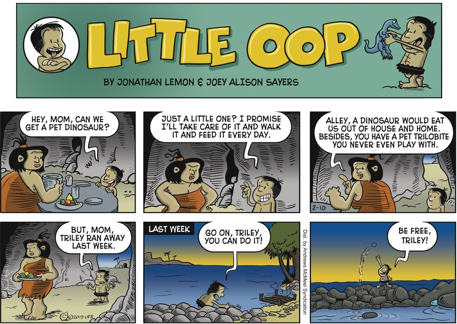 Alley Oop Comic Strip for February 10, 2019