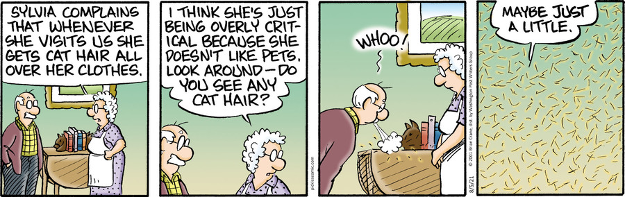 Pickles Comic Strip for August 05, 2021