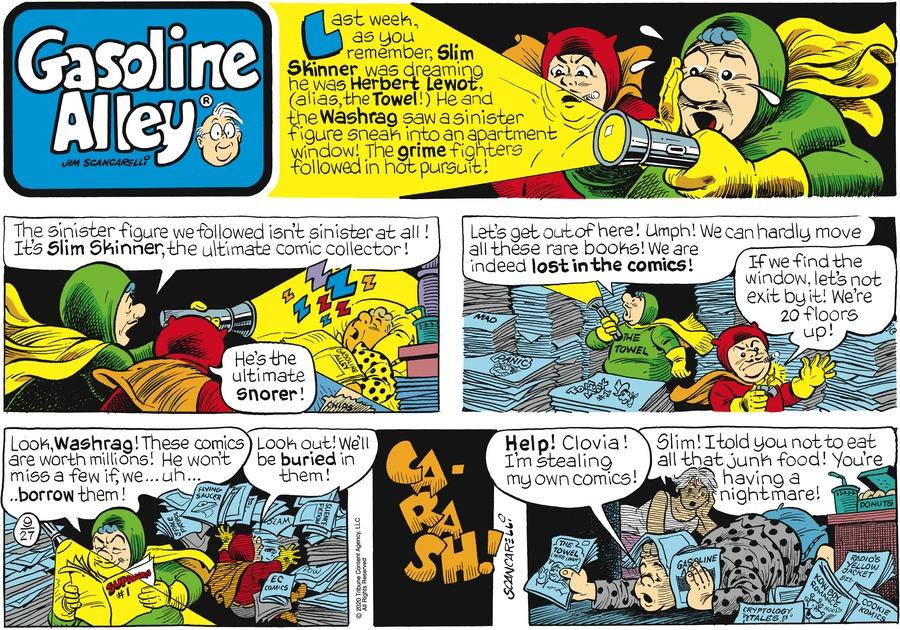 Gasoline Alley Comic Strip for September 27, 2020