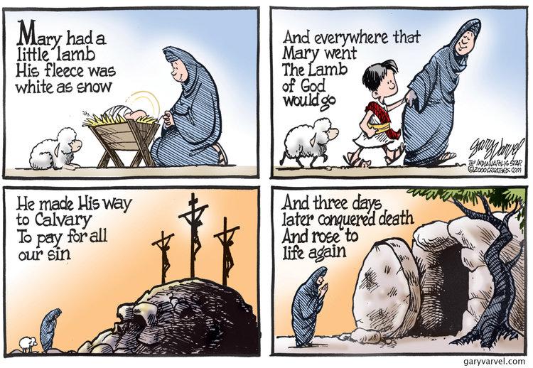 Gary Varvel Comic Strip for April 20, 2019